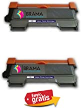 Bramacartuchos - 2 x Tóners compatibles con Brother Tn-2220/2010- NON OEM(2600 copias) HL2250DN, HL2270DW, MFC7360, MFC7360N, MFC7460dn, MFC7460, MFC7860dw, MFC7860