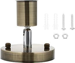 SOLUSTRE E27 Schroef Licht Socket Vintage 180 Graden Gloeilamp Houder Retro Lamp Houder ()