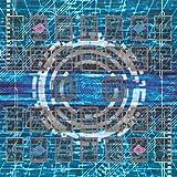 おもちゃの神様 遊戯王 新マスタールール プレイマット ラバーマット リンク召喚 EXゾーン 対応 (60×60cm 電脳世界)