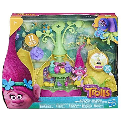 Hasbro Trolls E0335EU4 Trolls Poppy's Käfer-Spielplatz, Spielset