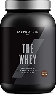 Myprotein The WHEY, Whey Protein for Building Muscle, Aminogen and DigeZyme, Low Fat Whey Powder, Whey Protein Hydrolysate, Low Carb Protein Powder, Tri Blend, Cookies & Cream, 30 Servings