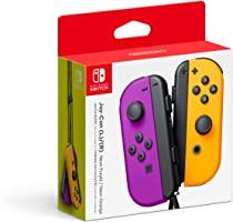 Control Nintendo Switch - Joy-Con (L/R) - Morado/Naranja Neón - Standard Edition