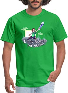 FINLE Tobuscus I Can Swing My Sword Men's T-Shirt