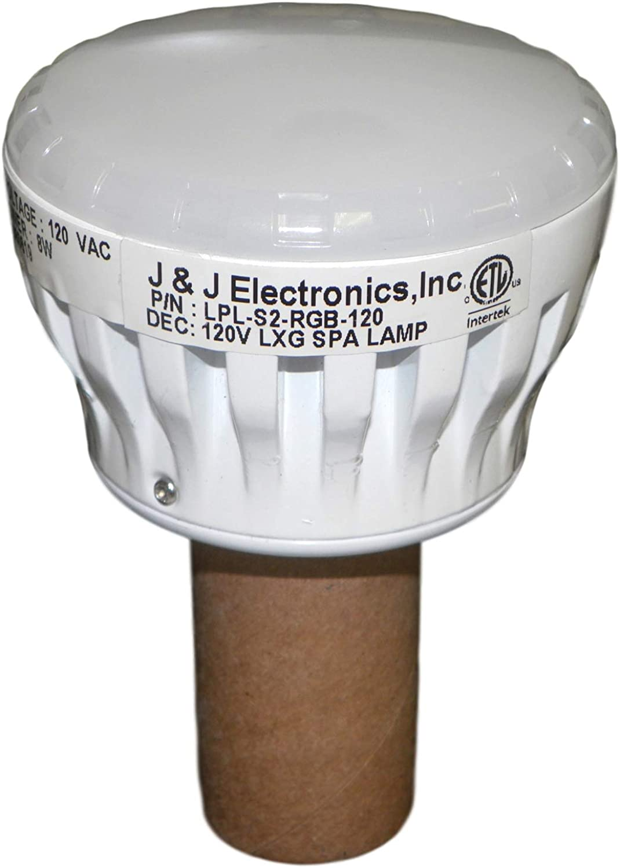 J & J LPLS2RGB120 Colorsplash LXG Spa Lamp