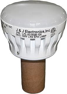 JJ Electronic J&J LPL-S2-RGB-120 120V LXG Series ColorSplash LED Spa Lamp