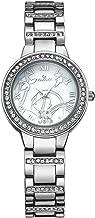 Women Gold Watches KINGSKY Brand Rhinestone Band Japan Quartz Movement Fashion Ladies Wrist Watch 1273