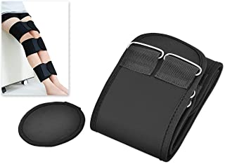 featured product Ace Select 3 Pieces Adjustable Leg Correction Band for O Type Leg and X Type Leg - Black - X-Large