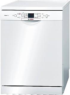 Bosch SMS53L12EU lavavajilla - Lavavajillas (Independiente, Color blanco, Botones, 46 Db, A, 60 °C)