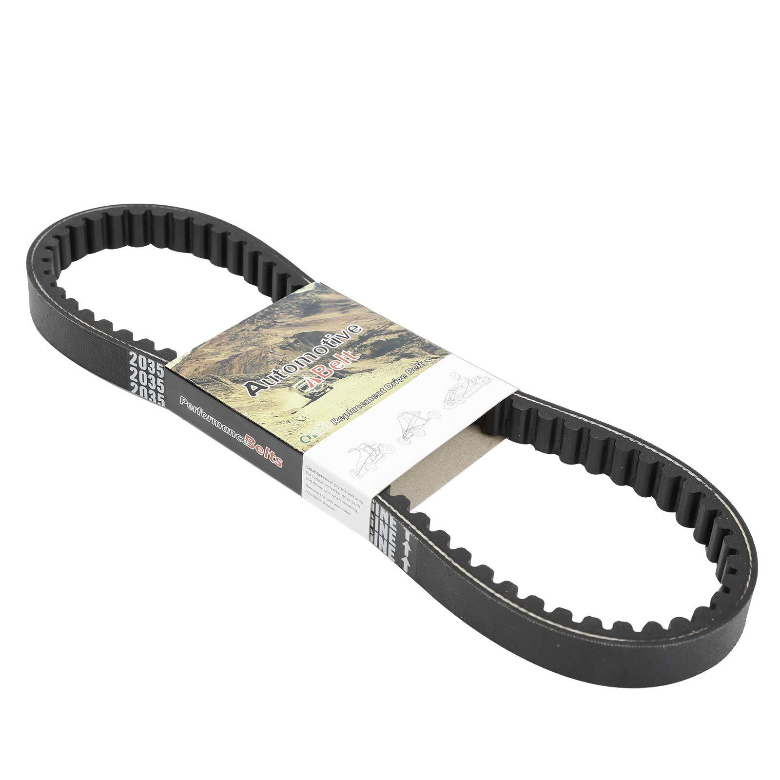 Belts BLACKHORSE-RACING 203591 Q430203W Go Kart Drive Belt for ...