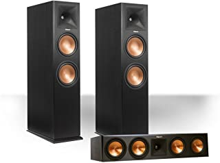 Klipsch RP-280FA Reference Premiere Dolby Atmos Enabled Floorstanding Speaker Package with RP-450CA Center Speaker - (Black)