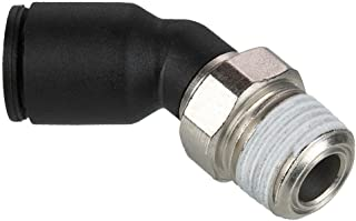 Parker 362PLP-4M-pk5 Composite Push-to-Connect Fitting Tube to Tube Glass Reinforced Nylon 6.6 Pack of 5 Push-to-Connect Union Y 4 mm