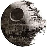9 Inch Death Star Imperial Galatic Empire Sith Emperor Dark Side Deathstar Star Wars Classic Episode IV Removable Wall Decal Sticker Art Home Decor Kids Room-9 Inches Wide by 9 Inches Tall