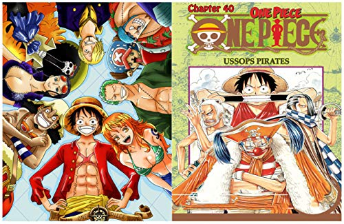One Piece Full Series : Chapter 40 Ussops Pirates (English Edition)