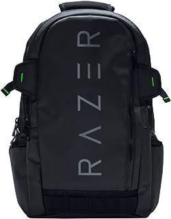 Razer Rogue Gaming - Mochila para computadora portátil (resistente al agua y con forro de TPU interior, llévese su juego mientras viaja, ajuste hasta 15 pulgadas de laptops) color negro