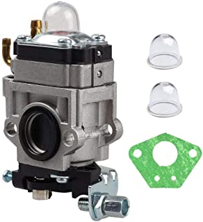 New Carb Carburetor with Bulb for 43cc 47cc 49cc 50cc 2 Stroke Pocket Bike ATV Stand-up Scooters Dirt Bikes Mini Quad Gas Scooter 15mm Intake Hole