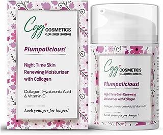 CGG Cosmetics Collagen, Hyaluronic Acid and Vitamin C Night Time Renewing Skin Moisturizer - 50ml