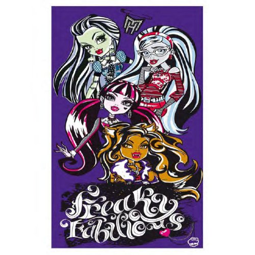 Toalla Monster High protagonistas 380gr