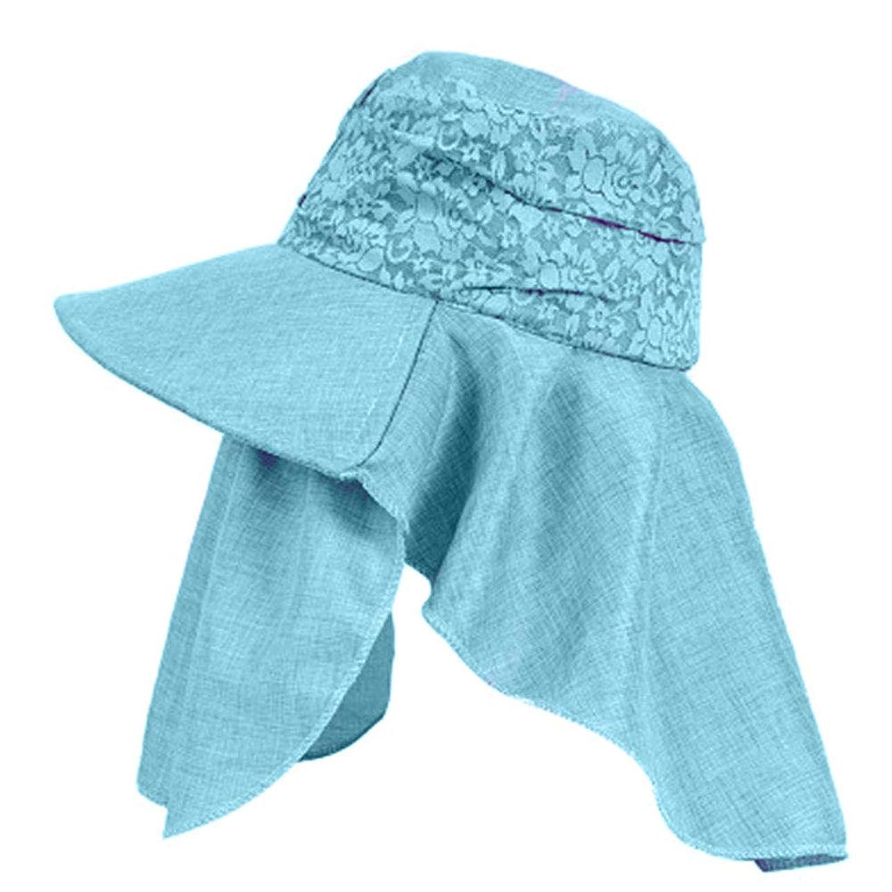独立して識別退却Merssavo 女性の夏の日曜日の帽子、バイザーカバーの表面の反紫色のライン旅行日曜日の帽子、ガーデニング、ハイキング、旅行、1#