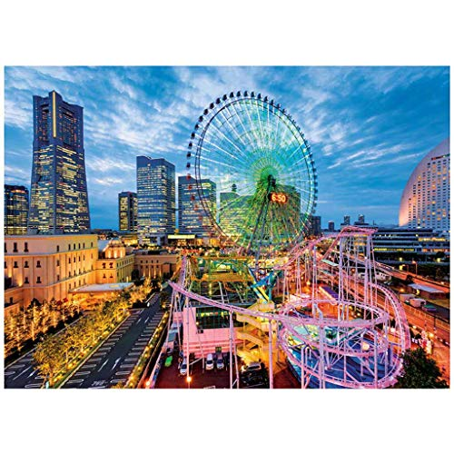 Lookvv 1000 Piece Puzzle for Adults– Every Piece is Unique - Challenging, Perfect for Family Fun – Fun Indoor Activity (Dream Amusement Park)