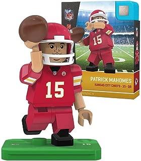 OYO Sports NFL Kansas City Chiefs Sports Fan Bobble Head Toy Figures, red/White, One Size