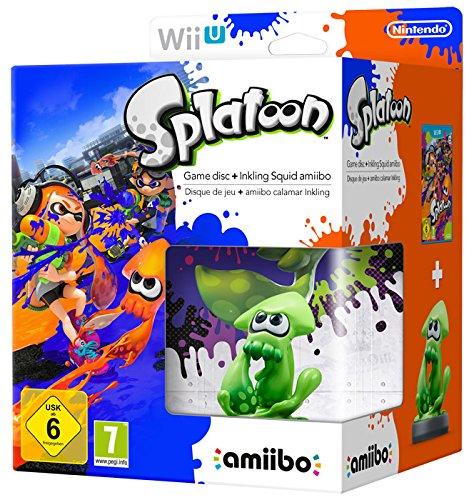 mächtig Nintendo Wii U: Splatoon + Amibo Kalamaro Inkling [Bundle Limited]