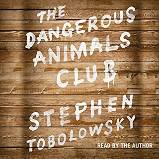 The Dangerous Animals Club audiobook cover art