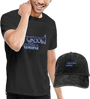 Camiseta de manga corta para hombre Kool & The Gang con gorra de béisbol