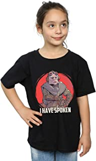 Star Wars Girls The Mandalorian I Have Spoken T-Shirt