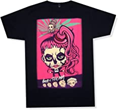 Lady Gaga Born This Way Cartoon Tour 2013 Black T Shirt