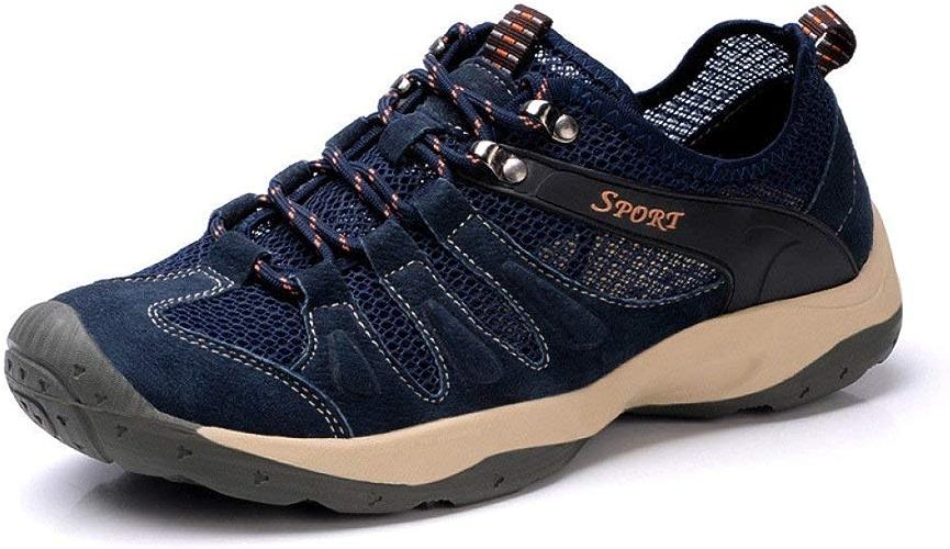 Hhor Chaussures de Sport pour Hommes. Chaussures d'été pour Hommes. (Couleuré   Bleu, Taille   39)