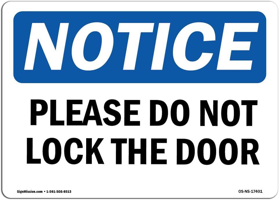 OSHA Notice Sign - Please Do Not The S Nashville-Davidson Mall ...