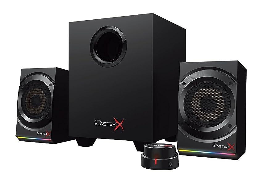 無一文ガチョウ主張Sound BlasterX Kratos S5 2.1 Gaming Speaker System with Customizable RGB Lighting [並行輸入品]
