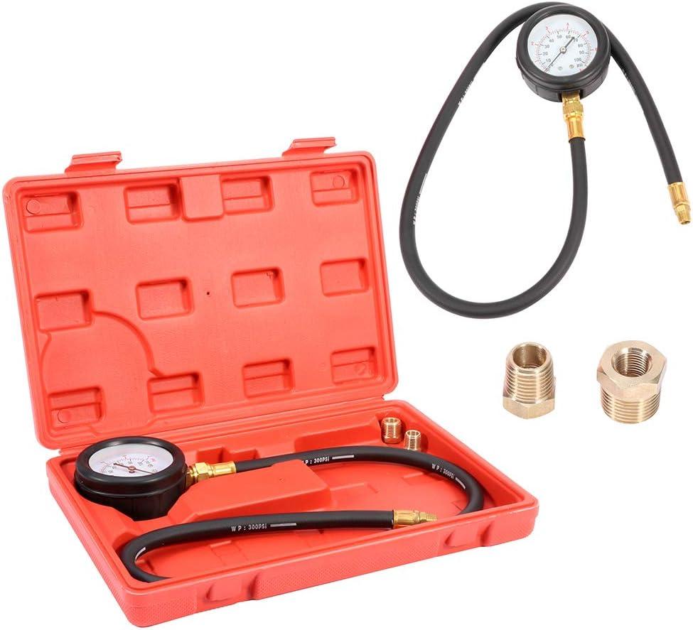 Oil Pressure Gauge Compression Engine Philadelphia Mall Tester Cylinder Cheap mail order specialty store Pressu