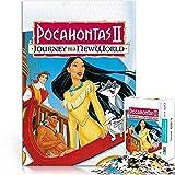 Puzzle 1000 Piezas Pocahontas II New World Journey Movie Poster Animación Familia Canción y Baile Rompecabezas de Madera Dificultades y desafíos 50x75cm Juegos Familiares Juegos Juguetes Regalos