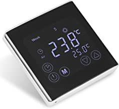 Heating Thermostat Weekly Programmable Thermostat Smart LCD Display Temperature Controller 16A AC 85-250V