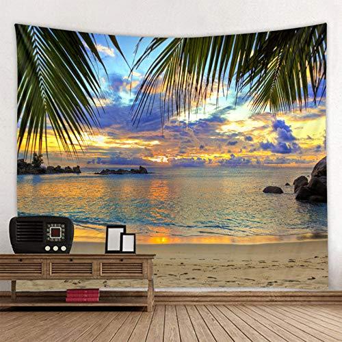Lienzo colgante de tela de pared con pantalla de océano encantador