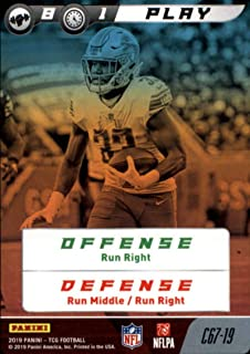 2019 Panini NFL Five Football #C67-19 Play Kerryon Johnson Detroit Lions Official Panini TCG Trading Game Collectible Card