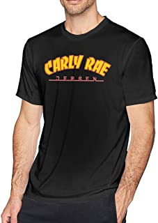 Carly Rae Jepsen Logo Men Limited Edition Short Sleeved T-Shirt Casual Style Black