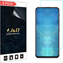 J&D Compatible for 6-Pack ZenFone 6 Screen Protector, [Not Full Coverage] Premium HD Clear Film Shield Screen Protector for ASUS ZenFone 6 Crystal Clear Screen Protector