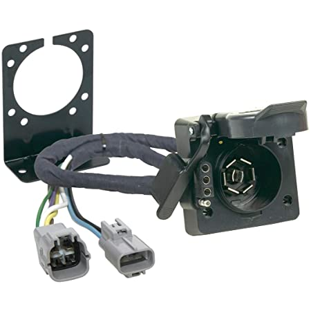 Amazon.com: Hopkins 43395 Plug-In Simple Vehicle to Trailer Wiring Kit:  Automotive | Tundra Trailer Wiring Harness Removal |  | Amazon.com