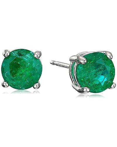 87832e765 Emerald Earrings: Amazon.com