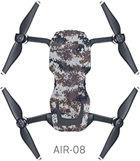 Amaae PVC Waterproof Sticker Drone Body Shell Protection Skin Decals For DJI MAVIC AIR(Coloe:Multicolor,Material:Other)