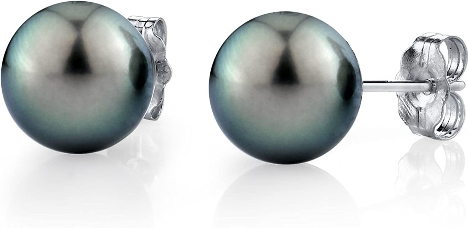 THE PEARL SOURCE 14K Gold Round Sea New item Culture Tahitian South Green Milwaukee Mall