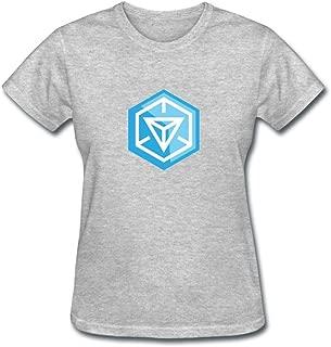 JXK Women's Ingress Video Game Logo T-Shirt