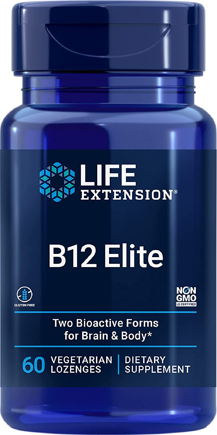 Life Extension B12 Elite – Helps Brain at Protect The Your Spring Bargain sale new work