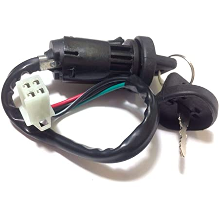 Key Ignition Switch for 50cc 70cc 90cc 110cc 125cc 150cc 200cc 250cc ATV Quad Dirt Pit Bike Scooter Redcat Electra Honda