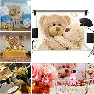 GESEN 7X5ft Teddy Bear Children Doll Seamless Vinyl Photography Backdrop Photo Background Studio Props GESEN79