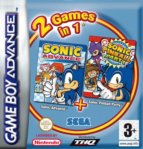 Combo Sonic Advance 1 + Sonic Pinball Party [FR Import]
