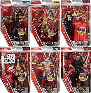 WWE Elite 47 - Complete Set of 6 Mattel Toy Wrestling Action Figures