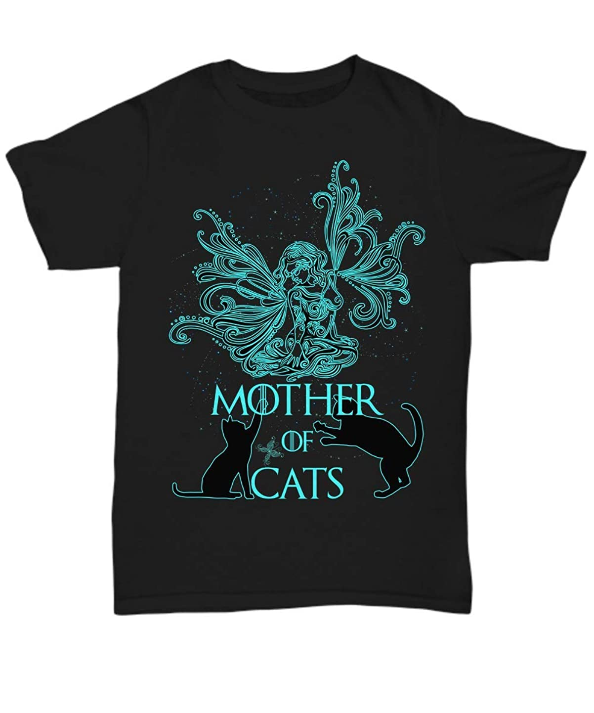 Mother of Cats - Tattoo 01 Women Tshirt - Cute Black Unisex Tee Gift - Great Gifts for Mother's Day zowlpvxawzo4